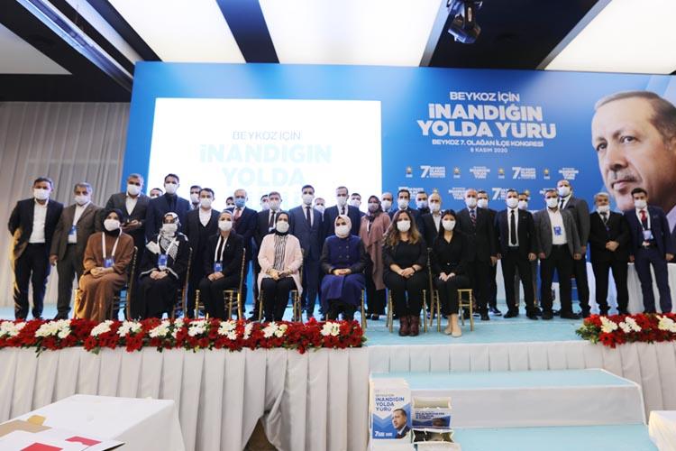 AK Parti Beykoz 7. Olağan İlçe Kongresi yapıldı