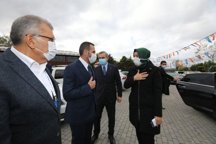 AK Parti Beykoz İlçe Kongresi yapılıyor… Hanefi Dilmaç tek aday