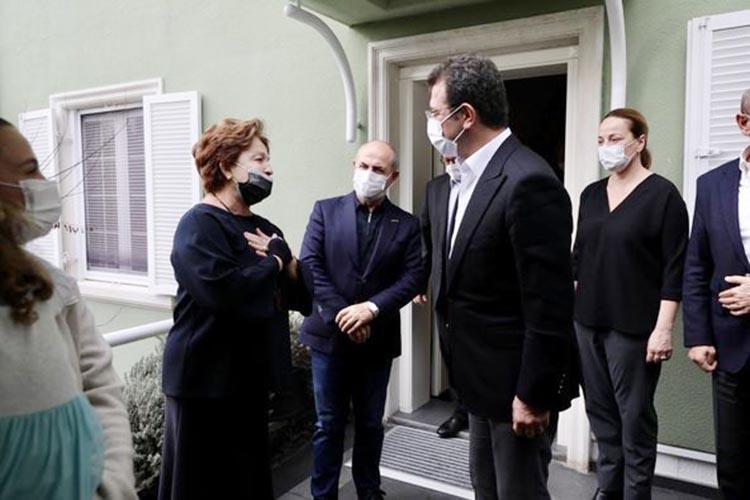 Ekrem İmamoğlu, Beykoz'da Yılmaz ailesini ziyaret etti