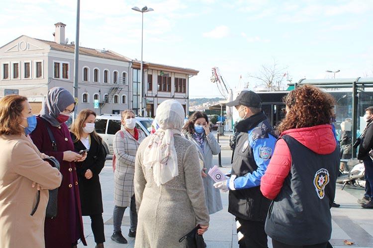 Kadınlar için acil destek uygulaması Beykoz'da tanıtıldı