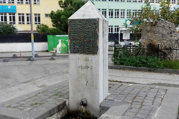 İSKİ, Beykoz'da tarihi çeşmeyi onaracak