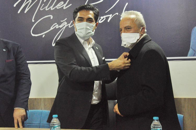 Kamil Adnan Güner Beykoz'da İYİ Partili oldu