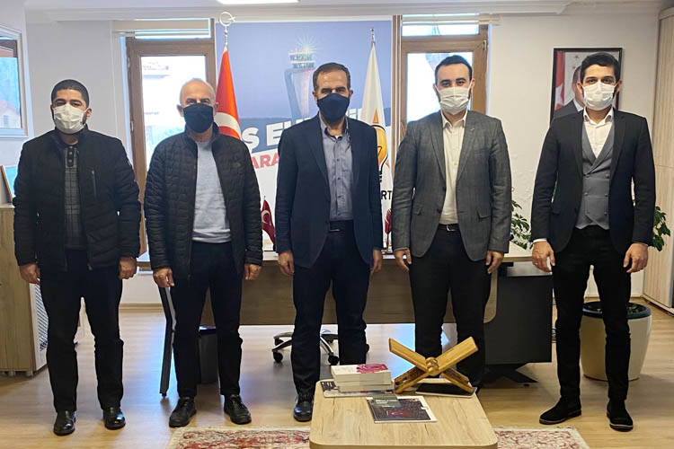 TÜGVA İstanbul'dan AK Parti Beykoz'a ziyaret