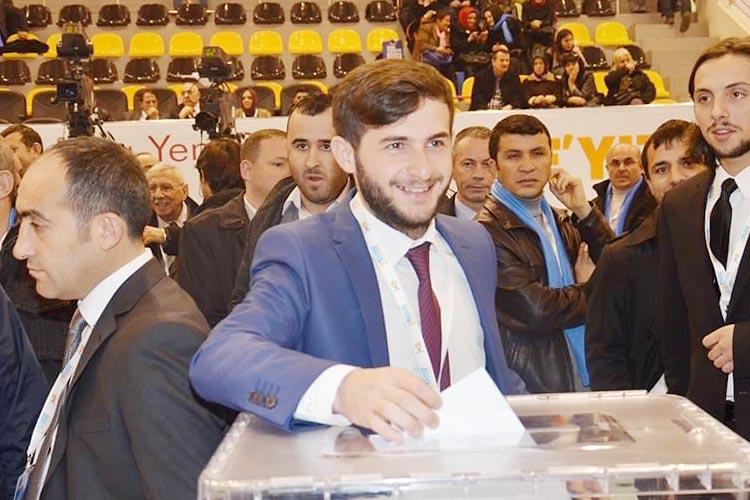 AK Parti Beykoz Gençlik Kolları Başkanı Burak Karaçam oldu
