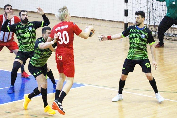 Antalya Beykoz'dan eli boş gitti: 35 - 26