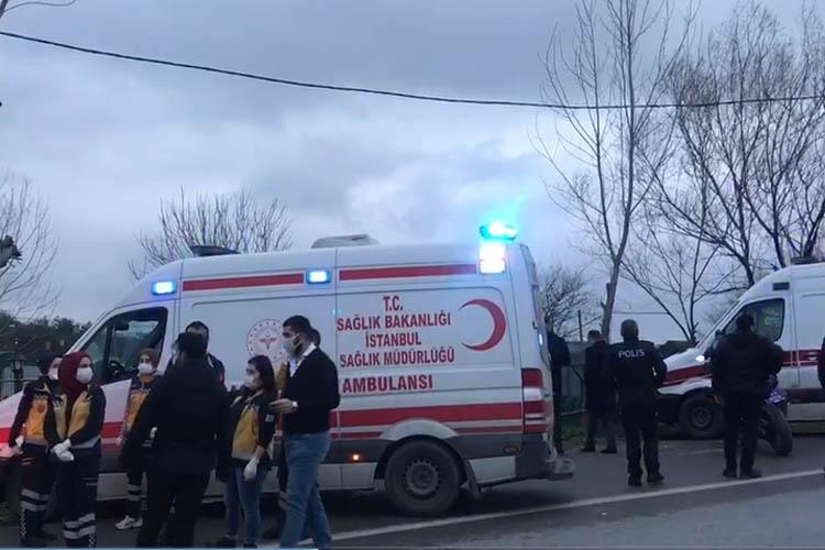 Beykoz'da helikopter düştü iddiası, alarm verildi!