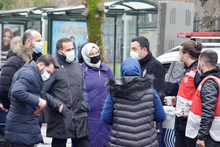 Beykoz'da emniyet-siyaset dayanışması
