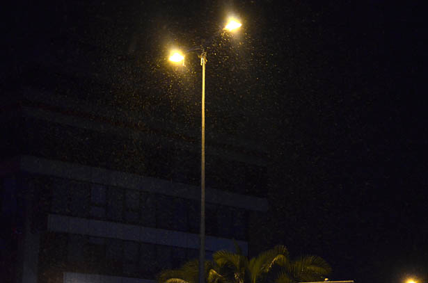 Yağışın etkisini pazartesi sabahına kadar sürdürmesi bekleniyor.