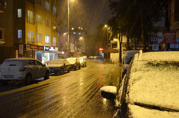 Beykoz başta olmak üzere Anadolu Yakasının tamamı sabaha karşı yoğun kar yağışı alacak.