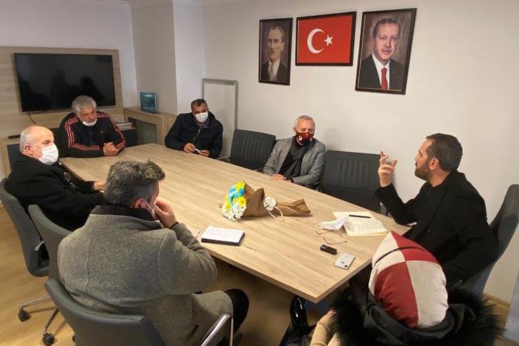 Beykoz Kulüpler Birliği'nden iktidara ziyaret