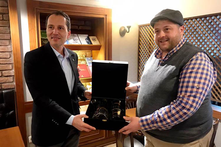 Fatih Erbakan'dan Beykoz'da sürpriz ziyaret