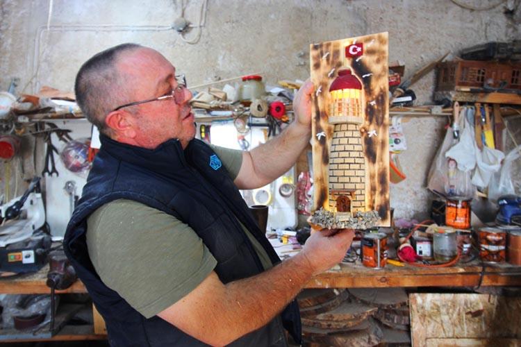 Beykoz'da ağacı sanat eserine dönüştürenler