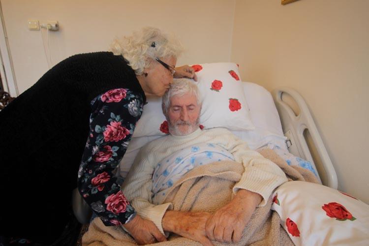 Beykoz'da bir yastıkta ilk günkü aşkla 67 yıl