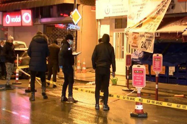 Beykoz'da sokak ortasında silahlı kavga 1 ölü