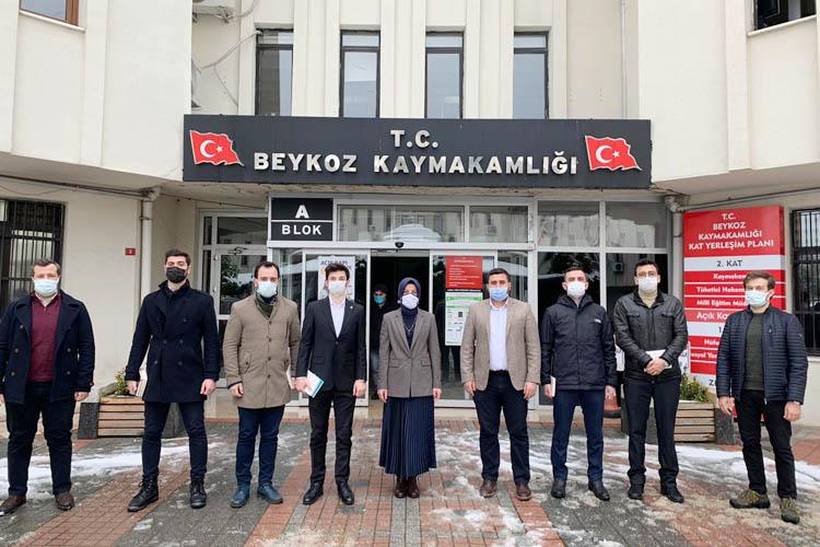 TÜGVA Beykoz'dan protokol ziyaretleri
