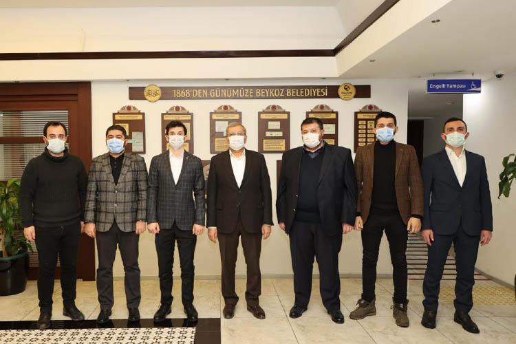 TÜGVA Beykoz'dan Başkan Aydın'a ziyaret
