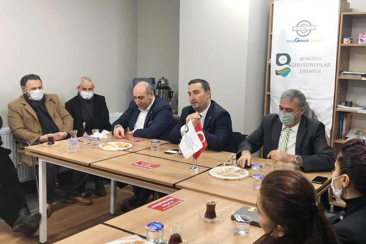 İYİ Parti Genel Merkezi Beykoz'da nabız yokladı