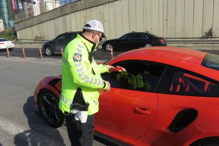Beykoz'da trafik denetiminde ceza yağdı