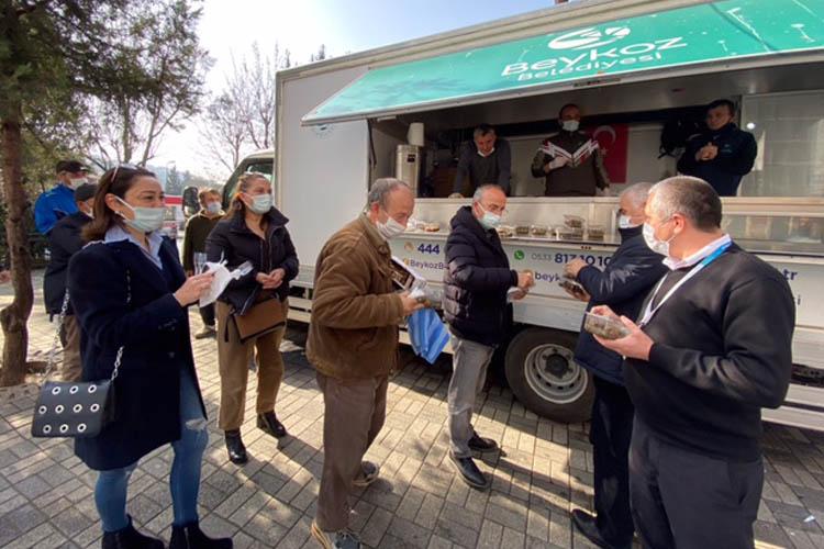 Beykoz'un sağlıkçılarına Karadeniz takviyesi