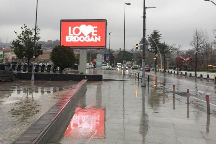 Beykoz'da Love Erdoğan kampanyasına destek