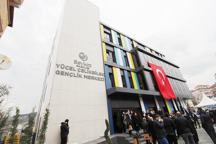 Beykoz Yücel Çelikbilek Kültür Merkezi sene-i devriyede açıldı
