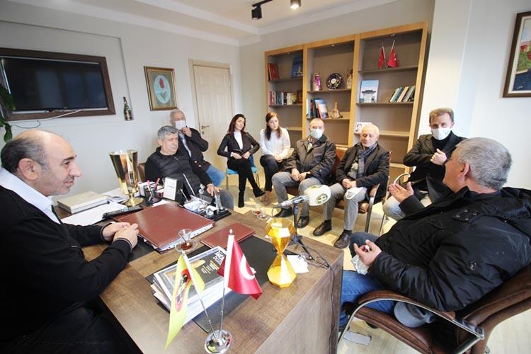 Beykoz Amatör Spor Kulüplerinden İYİ Parti ziyareti