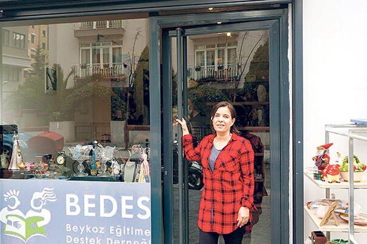 BEDES Kadıköy'de iyilik dükkanı açtı