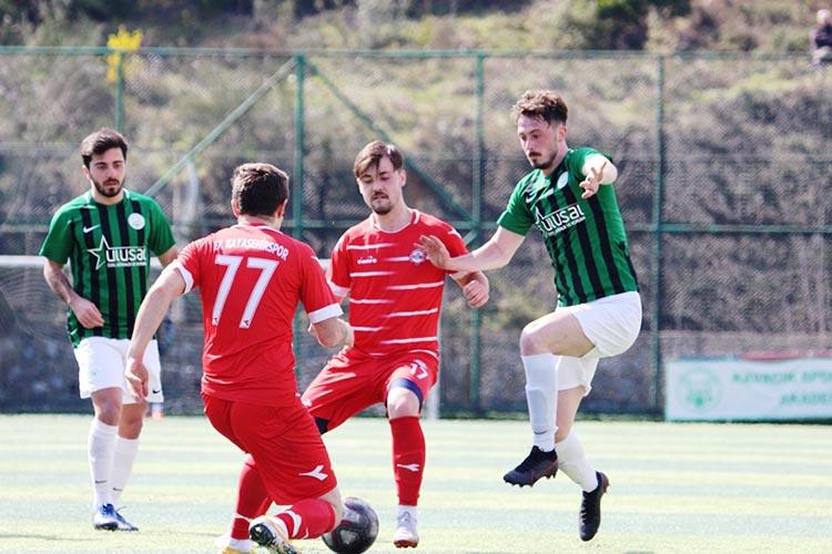 Kavacıkspor Kayaşehir maçında üzgün ayrıldı: 0-1