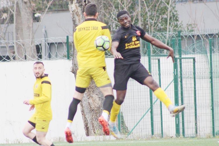 Beykoz Afrikalı konuklarını 6 golle uğurladı