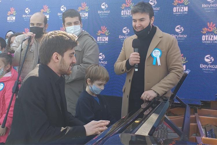 Mustafa Ceceli'den Beykoz'un Otizmlilerine destek