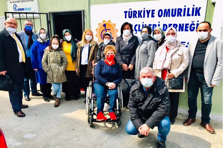 Beykoz Rizeliler Derneği'nden KAS-DER ve TOFD ziyareti