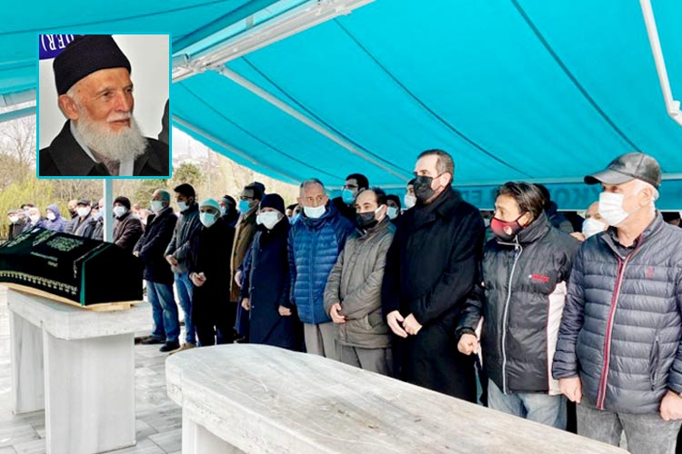 Beykoz'un alimi Ali Yalçın ebediyete uğurlandı