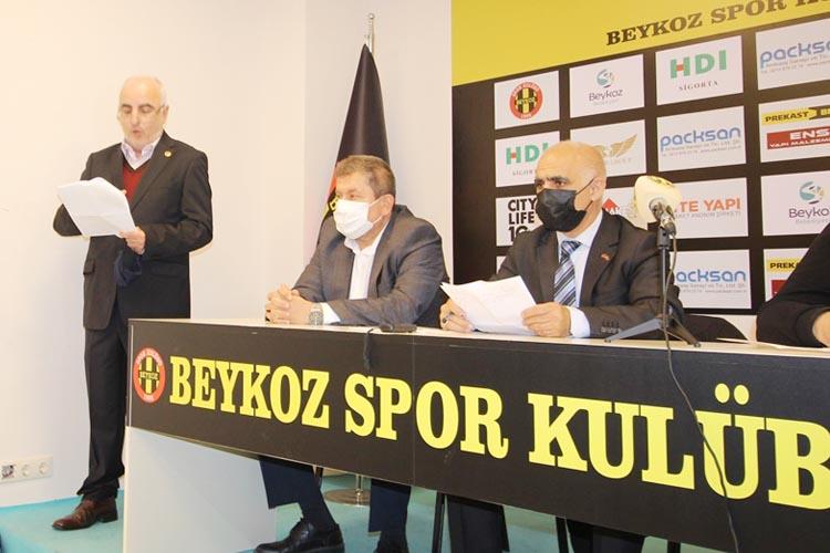 Beykoz Spor Kulübü'nde kongre yapıldı