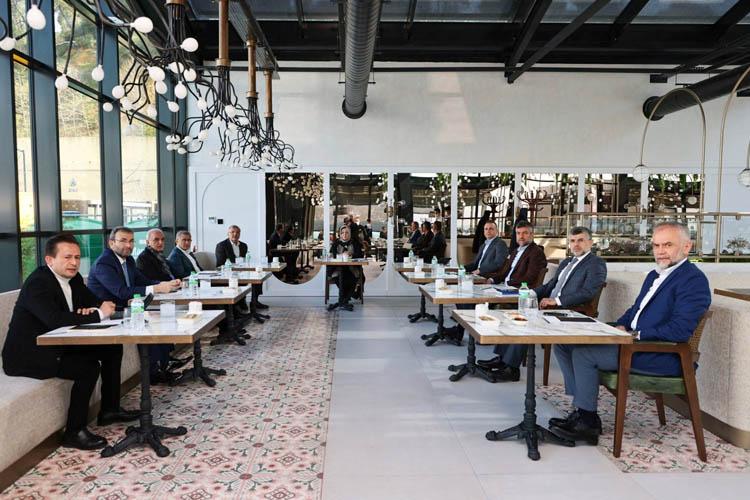 Başkanlar aylık toplantısını Beykoz'da yaptı