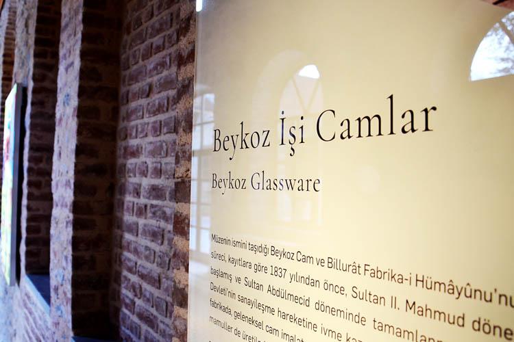 Beykoz Cam ve Billur Müzesi basına tanıtıldı