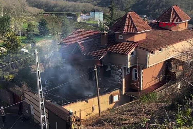 Beykoz Çavuşbaşı'nda villa yangını