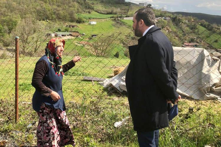 İktidar Beykoz'da şehit ailelerini unutmadı