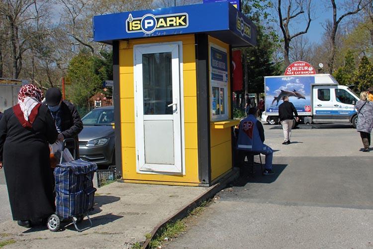 İBB Beykoz Yalıköy Pazaryeri'ni İSPARK yaptı