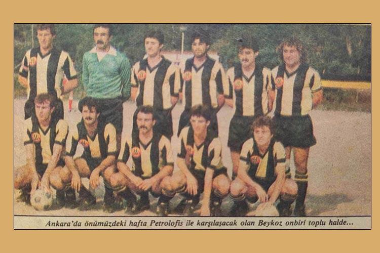 Beykoz'un spor tarihinde hüzünlü bir sezon… 1983-84