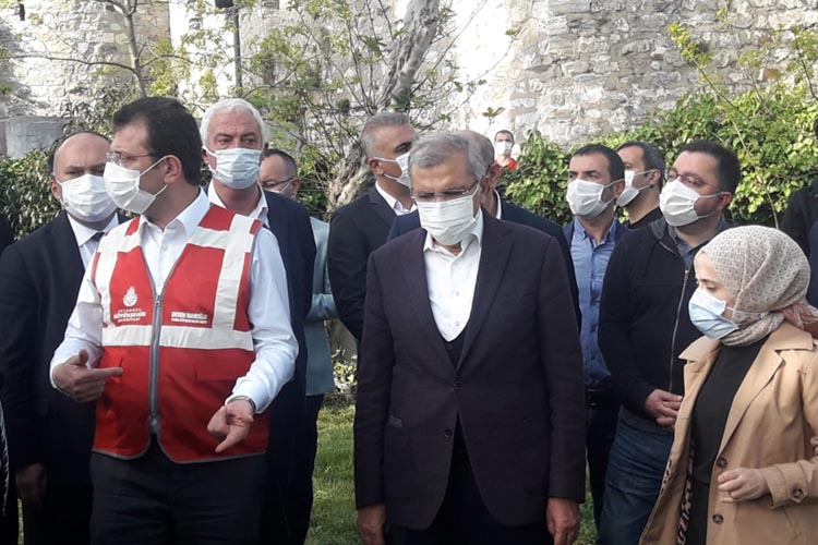 İBB Başkanı İmamoğlu Beykoz'da incelemelerde bulundu