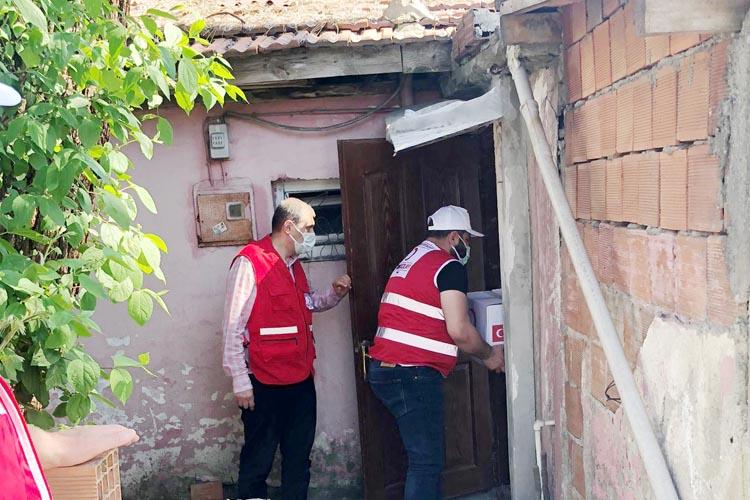 Türk Kızılayı, Beykoz'un arka sokaklarında