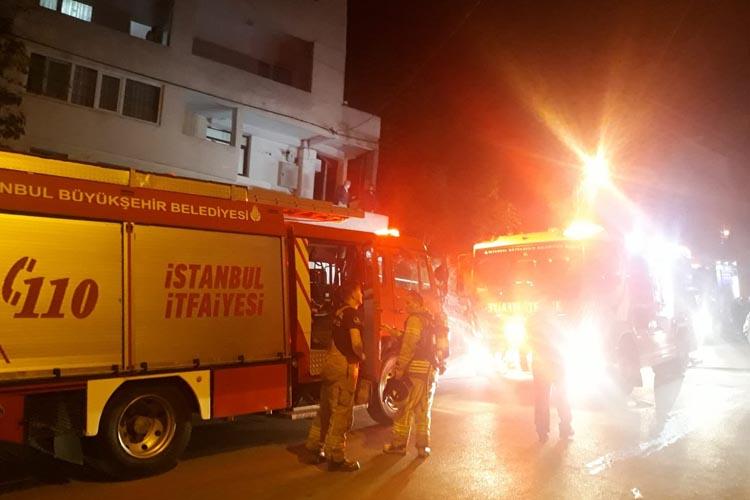 Beykoz Çubuklu Mahallesi'nde konfeksiyon yangını