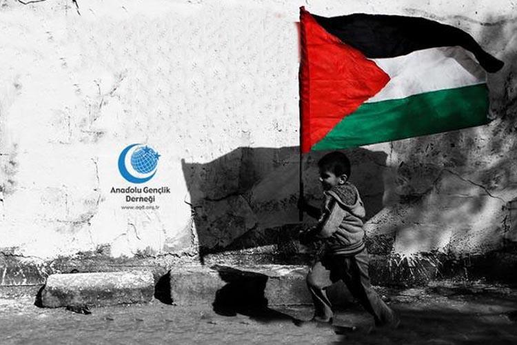 AGD Beykoz Şubesinden Filistin duası