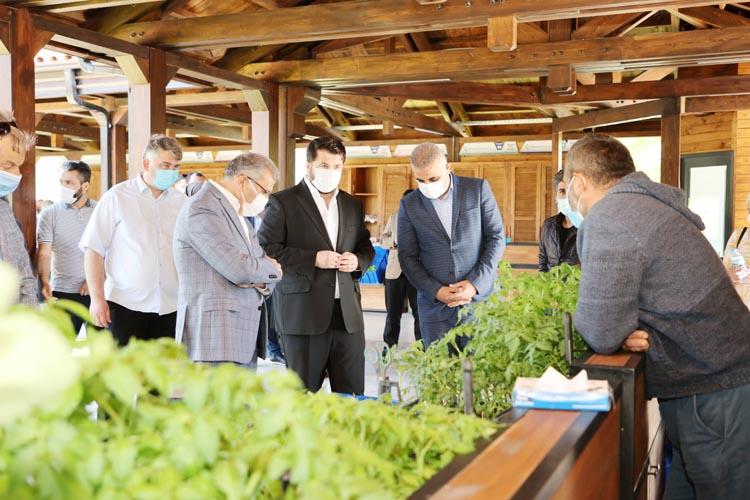 İstanbul'un doğal beslenme pazarı Beykoz'da açıldı