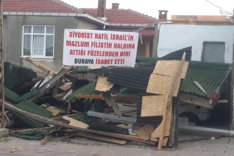 Siyonist İsrail füzesi Beykoz'a mı isabet etti?