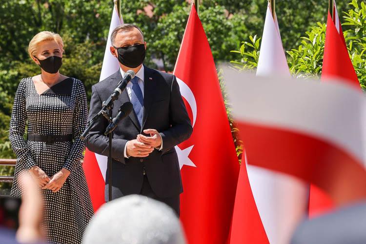 Polonya Cumhurbaşkanı Beykoz'u ziyaret etti