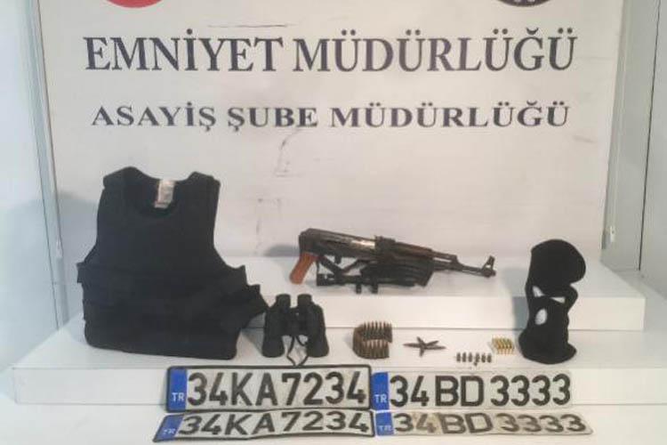 Beykoz'da cinayet zanlısının evinden cephane çıktı