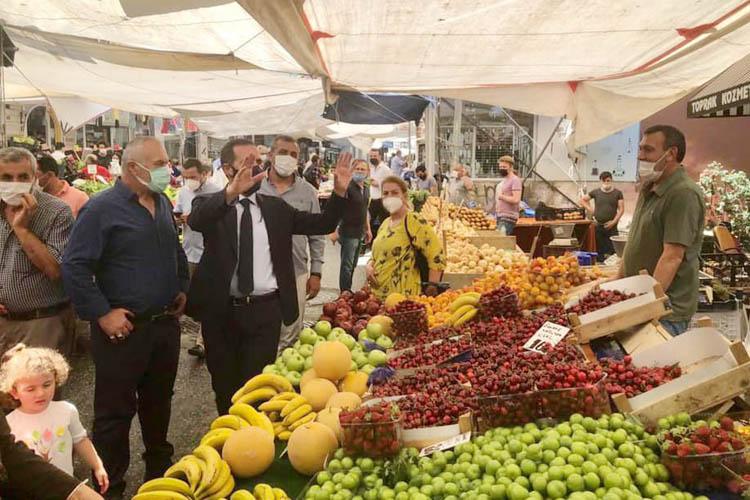 Paşabahçe pazarı yeniden iki güne çıkarıldı