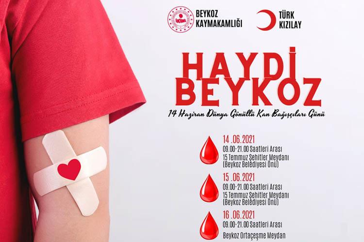 Beykoz halkına kan bağışı çağrısı