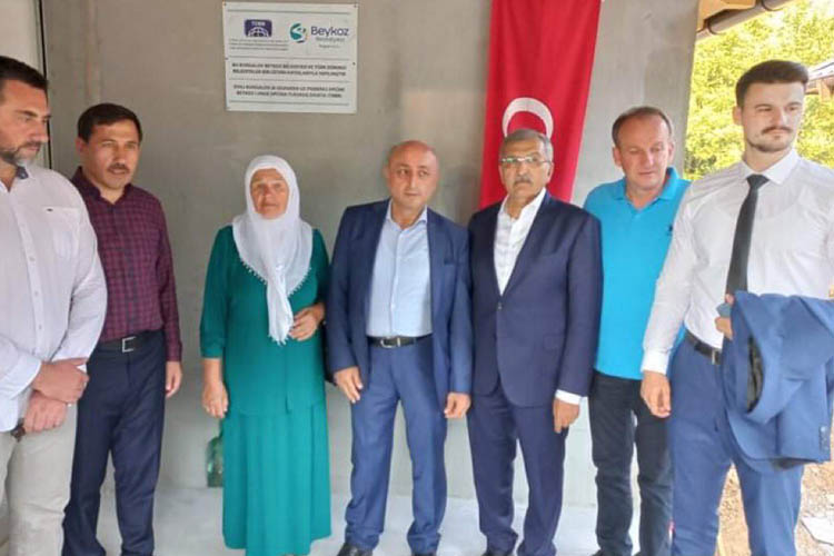 Beykoz'dan Srebrenitsa'ya kardeşlik evi
